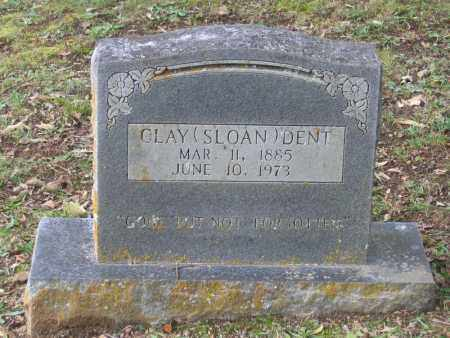 DENT, CLAY SLOAN - Lawrence County, Arkansas | CLAY SLOAN DENT - Arkansas Gravestone Photos