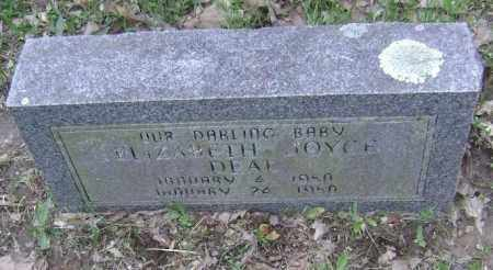 DEAL, ELIZABETH JOYCE - Lawrence County, Arkansas | ELIZABETH JOYCE DEAL - Arkansas Gravestone Photos