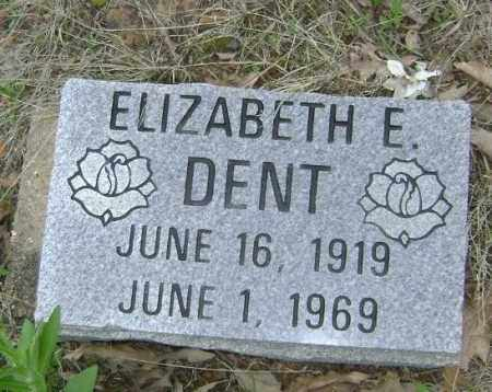 DENT, ELIZABETH E. - Lawrence County, Arkansas | ELIZABETH E. DENT - Arkansas Gravestone Photos