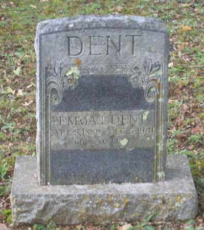 DAVIS DENT, EMMA LEE - Lawrence County, Arkansas | EMMA LEE DAVIS DENT - Arkansas Gravestone Photos