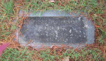 DENT, EMMA MELISSA C. - Lawrence County, Arkansas | EMMA MELISSA C. DENT - Arkansas Gravestone Photos