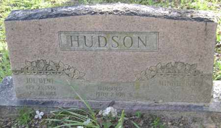 "HUDSON, JOSEPH DENT ""JOE"" - Lawrence County, Arkansas 