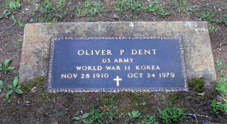 DENT (VETERAN 2 WARS), OLIVER PERRY - Lawrence County, Arkansas   OLIVER PERRY DENT (VETERAN 2 WARS) - Arkansas Gravestone Photos