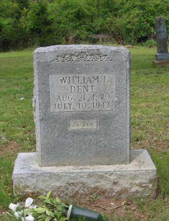 DENT, WILLIAM I. - Lawrence County, Arkansas | WILLIAM I. DENT - Arkansas Gravestone Photos