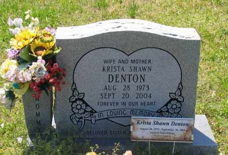 DENTON, KRISTA SHAWN - Lawrence County, Arkansas | KRISTA SHAWN DENTON - Arkansas Gravestone Photos
