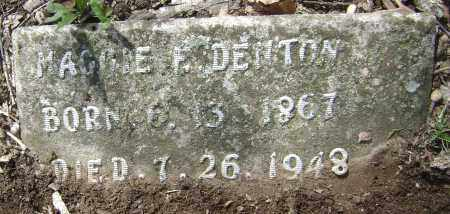 DENTON, MAGGIE ELIZABETH - Lawrence County, Arkansas | MAGGIE ELIZABETH DENTON - Arkansas Gravestone Photos