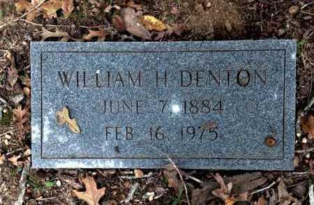 DENTON, WILLIAM HENRY - Lawrence County, Arkansas | WILLIAM HENRY DENTON - Arkansas Gravestone Photos