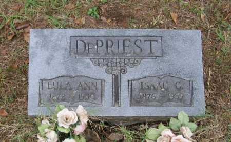 DEPRIEST, ISAAC C. - Lawrence County, Arkansas | ISAAC C. DEPRIEST - Arkansas Gravestone Photos