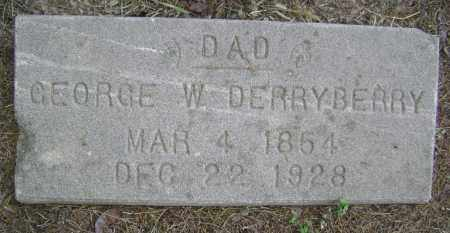 DERRYBERRY, GEORGE W. - Lawrence County, Arkansas | GEORGE W. DERRYBERRY - Arkansas Gravestone Photos