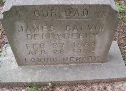 DERRYBERRY, JAMES CALVIN - Lawrence County, Arkansas | JAMES CALVIN DERRYBERRY - Arkansas Gravestone Photos