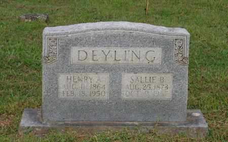 "BOTTOMS DEYLING, SARAH ""SALLIE"" - Lawrence County, Arkansas 