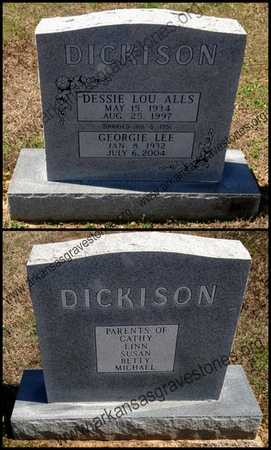 ALLS DICKISON, DESSIE LOU - Lawrence County, Arkansas | DESSIE LOU ALLS DICKISON - Arkansas Gravestone Photos