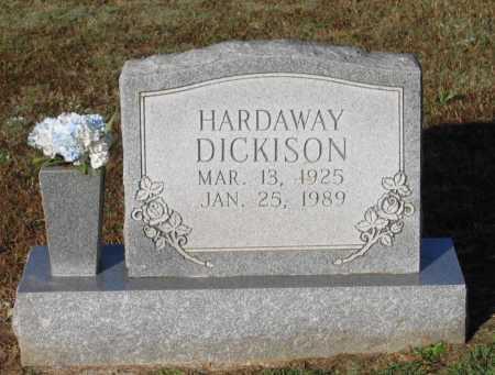 DICKISON, HARDAWAY - Lawrence County, Arkansas | HARDAWAY DICKISON - Arkansas Gravestone Photos