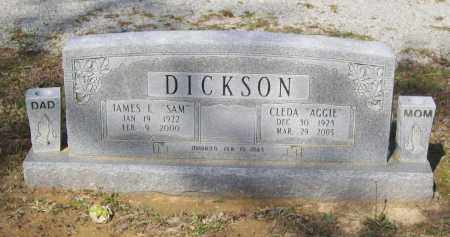 "DICKSON, CLEDA AGNES ""AGGIE"" - Lawrence County, Arkansas 