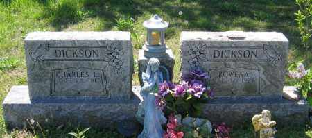 JINES DICKSON, ROWENA - Lawrence County, Arkansas | ROWENA JINES DICKSON - Arkansas Gravestone Photos
