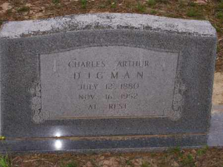 DIGMAN, CHARLES ARTHUR - Lawrence County, Arkansas | CHARLES ARTHUR DIGMAN - Arkansas Gravestone Photos