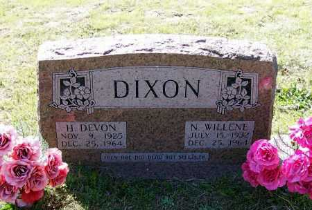 CLEMENTS DIXON, NADA WILLENE - Lawrence County, Arkansas | NADA WILLENE CLEMENTS DIXON - Arkansas Gravestone Photos