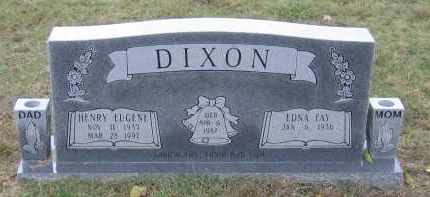 DIXON, HENRY EUGENE - Lawrence County, Arkansas | HENRY EUGENE DIXON - Arkansas Gravestone Photos