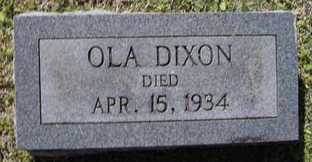 DIXON, OLA - Lawrence County, Arkansas | OLA DIXON - Arkansas Gravestone Photos
