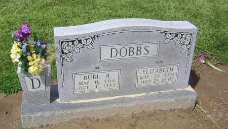 DOBBS, BURL H - Lawrence County, Arkansas | BURL H DOBBS - Arkansas Gravestone Photos
