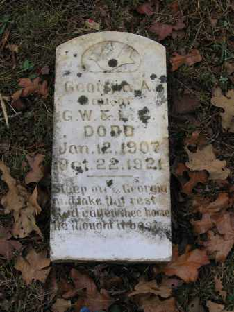 DODD, GEORGIA A. - Lawrence County, Arkansas | GEORGIA A. DODD - Arkansas Gravestone Photos