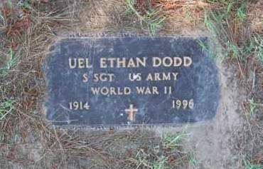 DODD (VETERAN WWII), UEL ETHAN - Lawrence County, Arkansas | UEL ETHAN DODD (VETERAN WWII) - Arkansas Gravestone Photos