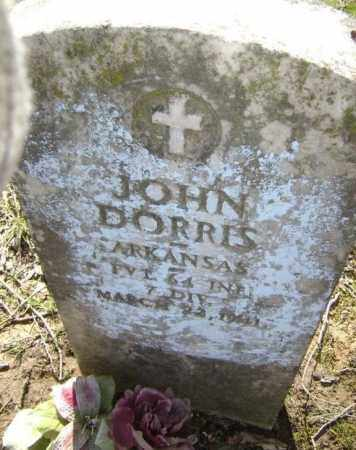 DORRIS (VETERAN WWI), JOHN - Lawrence County, Arkansas | JOHN DORRIS (VETERAN WWI) - Arkansas Gravestone Photos