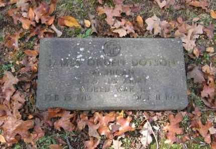 DOTSON (VETERAN WWII), JAMES ORDEN - Lawrence County, Arkansas | JAMES ORDEN DOTSON (VETERAN WWII) - Arkansas Gravestone Photos