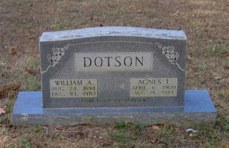 DOTSON, WILLIAM AMMON - Lawrence County, Arkansas | WILLIAM AMMON DOTSON - Arkansas Gravestone Photos