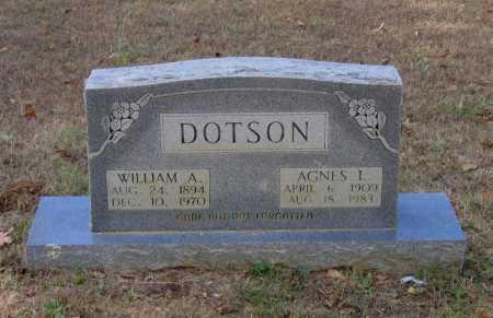 DOTSON, AGNES L. - Lawrence County, Arkansas | AGNES L. DOTSON - Arkansas Gravestone Photos
