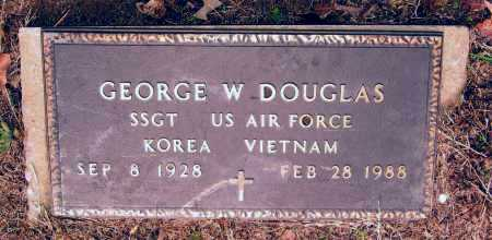 DOUGLAS (VETERAN 2 WARS), GEORGE WALLACE - Lawrence County, Arkansas | GEORGE WALLACE DOUGLAS (VETERAN 2 WARS) - Arkansas Gravestone Photos