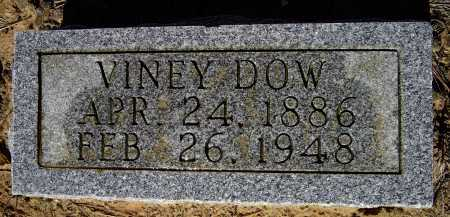 "DOW, MELVINEY ""VINEY"" - Lawrence County, Arkansas 