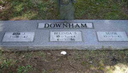 DOWNHAM, BELINDA S. - Lawrence County, Arkansas | BELINDA S. DOWNHAM - Arkansas Gravestone Photos