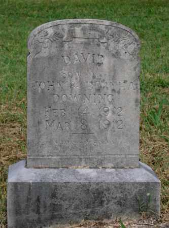 DOWNING, DAVID - Lawrence County, Arkansas | DAVID DOWNING - Arkansas Gravestone Photos