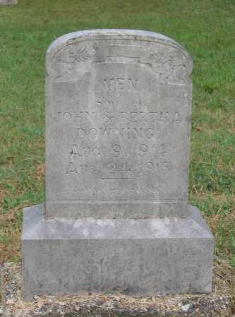 DOWNING, IVEN - Lawrence County, Arkansas | IVEN DOWNING - Arkansas Gravestone Photos