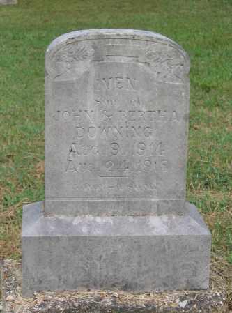 DOWNING, IVEN - Lawrence County, Arkansas | IVEN DOWNING - Arkansas Gravestone Photos