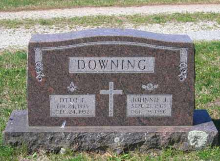 JARRETT DOWNING, JOHNNIE - Lawrence County, Arkansas | JOHNNIE JARRETT DOWNING - Arkansas Gravestone Photos
