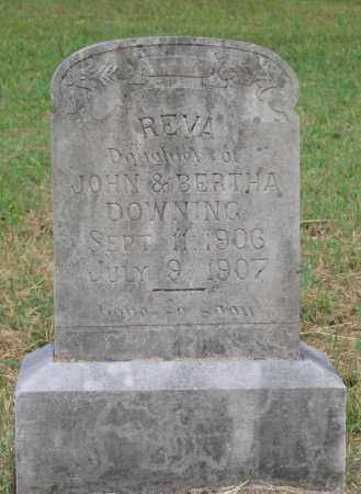 DOWNING, REVA - Lawrence County, Arkansas | REVA DOWNING - Arkansas Gravestone Photos