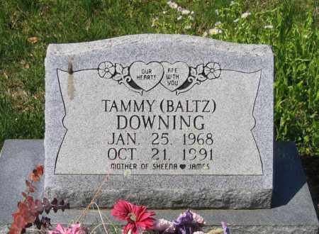 BALTZ DOWNING, TAMMY - Lawrence County, Arkansas | TAMMY BALTZ DOWNING - Arkansas Gravestone Photos