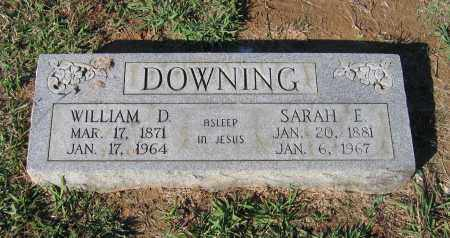 DOWNING, WILLIAM D. - Lawrence County, Arkansas | WILLIAM D. DOWNING - Arkansas Gravestone Photos