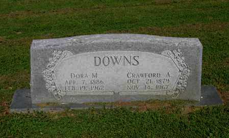 DOWNS, CRAWFORD A. - Lawrence County, Arkansas | CRAWFORD A. DOWNS - Arkansas Gravestone Photos