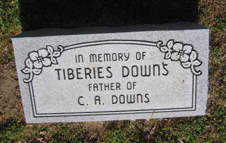 DOWNS, TIBERIES - Lawrence County, Arkansas | TIBERIES DOWNS - Arkansas Gravestone Photos