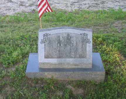 DOWNS (VETERAN WWII, KIA), HUBERT GLENN - Lawrence County, Arkansas | HUBERT GLENN DOWNS (VETERAN WWII, KIA) - Arkansas Gravestone Photos
