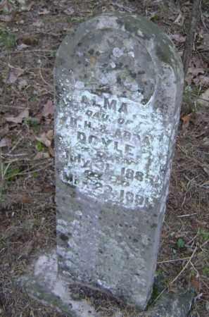 DOYLE, ALMA - Lawrence County, Arkansas   ALMA DOYLE - Arkansas Gravestone Photos