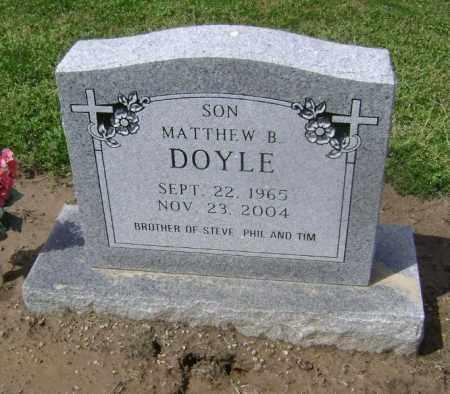 DOYLE, MATTHEW BELK - Lawrence County, Arkansas | MATTHEW BELK DOYLE - Arkansas Gravestone Photos