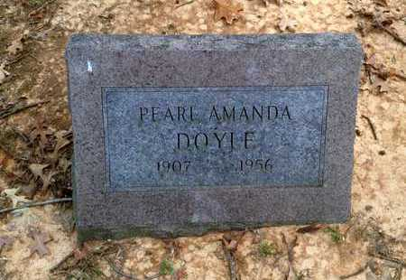 HUSKEY DOYLE, PEARL AMANDA - Lawrence County, Arkansas | PEARL AMANDA HUSKEY DOYLE - Arkansas Gravestone Photos