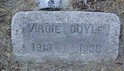 DOYLE, VIRGIE - Lawrence County, Arkansas | VIRGIE DOYLE - Arkansas Gravestone Photos