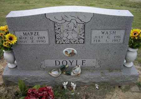 DEEN DOYLE, MARZE - Lawrence County, Arkansas | MARZE DEEN DOYLE - Arkansas Gravestone Photos
