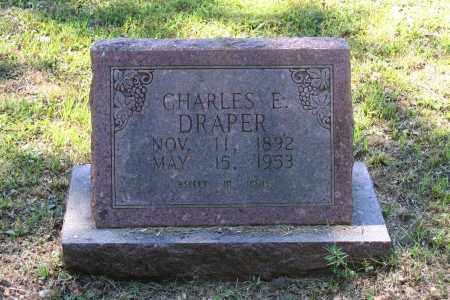 DRAPER, CHARLES E. - Lawrence County, Arkansas | CHARLES E. DRAPER - Arkansas Gravestone Photos