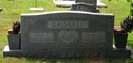 DRISKELL, ELMER L. - Lawrence County, Arkansas | ELMER L. DRISKELL - Arkansas Gravestone Photos